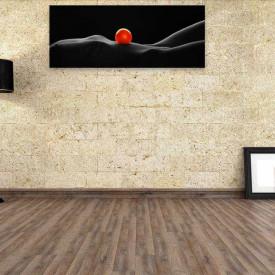 """Tablou """"Orange woman"""" (100x40cm)"""