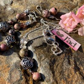 Desert Rose - set din pietre de Rodonit