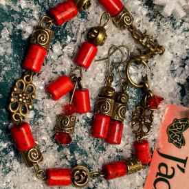Santa's candies - set din howlit (unicat)