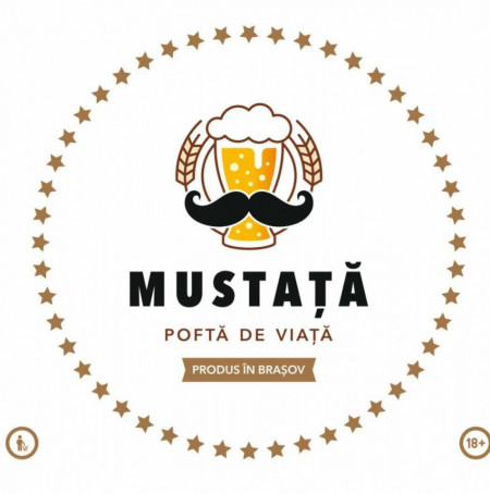 Pachet Mustata de bere - IPA - Blonda