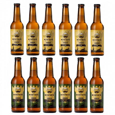 Pachet Mustata de bere - Alba - Blonda