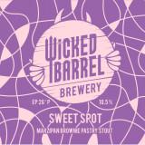 Wicked Barrel Sweet Spot - Marzipan Brownie