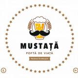 Pachet Mustata de bere - Alba - Amber