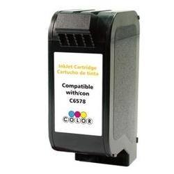Cartus cerneala 78, C6578 HP CMY Remanufacturat EuroPrint compatibil