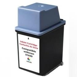 Cartus cerneala 49, 51649 HP CMY Remanufacturat EPS compatibil