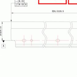 Wiper blade DR411 Konica-Minolta DC Select compatibil