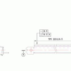 Wiper blade ML1710 Samsung DC Select compatibil