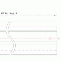 Wiper blade E120 Lexmark DC Select compatibil