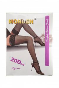Ciorapi plasa mica, banda adeziva, Monden, nude