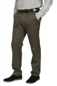 Pantaloni clasici cu buzunare oblice, Town, kaki