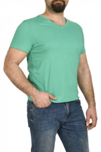 Tricou bumbac in anchior, Glo Story, verde
