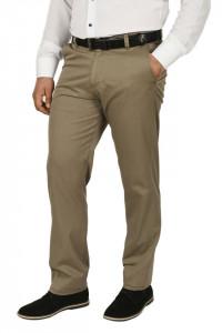 Pantaloni clasici cu buzunare oblice, Town, kaki prafuit