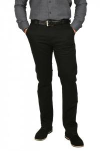 Pantaloni barbati, cu buzunare oblice, negru