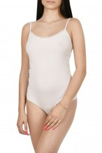 Body dama, tip maiou, Lemila, alb