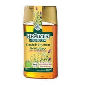 Sirop ECO cu miere impotriva tusei, cu fenicul si cimbru 250 ml