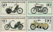 Berlin ber 694#697  1983 Motoren  Postfris