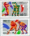 Berlin ber 836#837  1989 Voor de sport  Postfris
