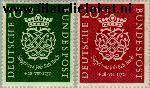 Bundesrepublik BRD 121#122  1950 Bach, Johann Sebastian  Postfris