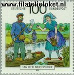 Bundesrepublik BRD 1570#  1991 Dag van de Postzegel  Postfris