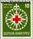 Bundesrepublik BRD 164#  1953 Dunant, Henri  Postfris