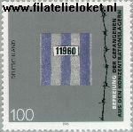 Bundesrepublik BRD 1796#  1995 Bevrijding gevangenen concentratiekampen  Postfris