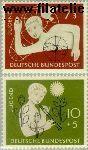 Bundesrepublik BRD 232#233  1956 Jongen en meisje  Postfris