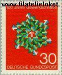Bundesrepublik BRD 570#  1968 Vakbonden  Postfris