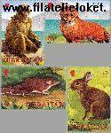 Gibraltar gib 1010#1013  2002 Dieren  Postfris