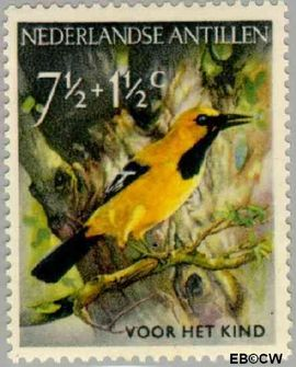 Nederlandse Antillen NA 272  1958 Vogels  cent  Postfris