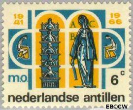 Nederlandse Antillen NA 372  1966 Middelbaar Onderwijs  cent  Postfris