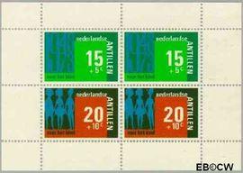 Nederlandse Antillen NA 484  1973 Hulp en zorg 40+18 cent  Postfris