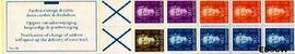 Nederlandse Antillen NA PB3B  1979 4x15, 3x20, 2x25, 1x30 cent  cent  Postfris