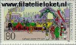 Bundesrepublik BRD 1264#  1985 Spoorwegen  Postfris