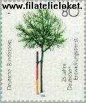Bundesrepublik BRD 1373#  1988 Entwicklungsdienst  Postfris