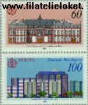 Bundesrepublik BRD 1461#1462  1990 C.E.P.T.- Postkantoren  Postfris