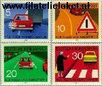 Bundesrepublik BRD 679#673  1971 Nieuwe verkeersregels  Postfris
