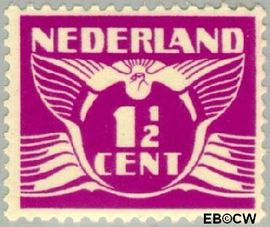 Nederland NL 171  1928 Vliegende Duif 1½ cent  Postfris