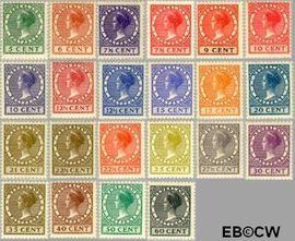 Nederland NL 177#198  1926 Koningin Wilhelmina- Type 'Veth'   cent  Postfris