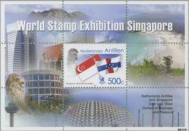 Nederlandse Antillen NA 1533  2004 Singapore  cent  Postfris