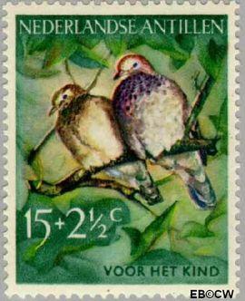 Nederlandse Antillen NA 273  1958 Vogels 20+10 cent  Postfris