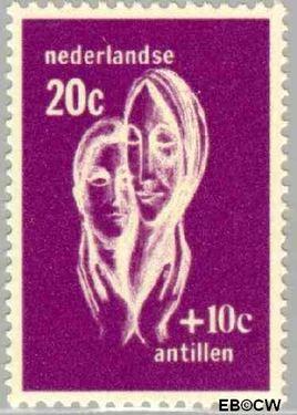Nederlandse Antillen NA 387  1967 Sociaal en cultureel werk 40 cent  Postfris