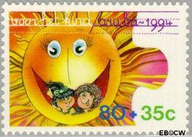 Aruba AR 149  1994 Kinderfantasie 80+35 cent  Gestempeld