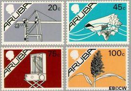 Aruba AR 24#27  1987 Beatrix  cent  Postfris