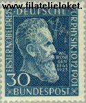 Bundesrepublik BRD 147#  1951 Röntgen, Wilhelm  Postfris