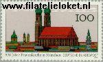 Bundesrepublik BRD 1731#  1994 München- Frauenkirche  Postfris