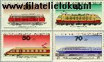 Bundesrepublik BRD 836#839  1975 Locomotieven  Postfris