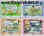 Gibraltar gib 675#678  1993 Diverse jubilea  Postfris