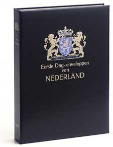 LUXE ALBUM FDC NEDERLAND (Z.NR.) ZW.