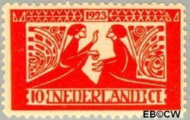 Nederland NL 135  1923 Tooropzegels 10+5 cent  Postfris