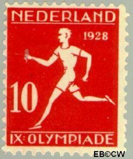 Nederland NL 217  1928 Olympische Spelen- Amsterdam 10+2 cent  Postfris